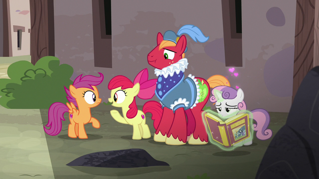 File:Apple Bloom asks Scootaloo if there's any sign of Feather Bangs S7E8.png