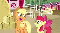 """Applejack """"you know what this means?"""" S9E10"""