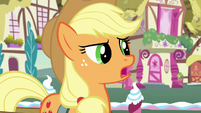 Applejack -I might be a little too practical- S7E9
