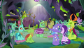 Changelings agreeing in the feelings forum S7E17.png