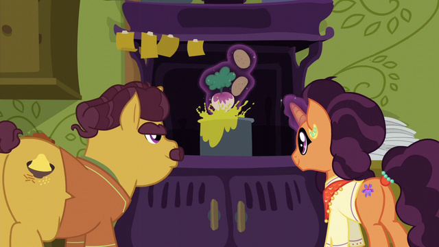 File:Coriander and Saffron cooking together S6E12.png
