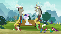 "Discord 2 ""well, I'm not talking to you!"" S7E12"