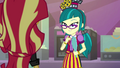 Juniper Montage gives Sunset Shimmer a sly look EGS3.png
