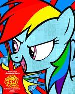 MLP The Movie Rainbow Dash '3weeks' poster