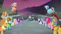 Mane Six and Pillars triumph over the darkness S7E26.png
