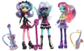 Photo Finish and the Snapshots Equestria Girls Ponymania dolls.png