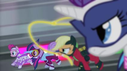 Power Ponies galopando T4E06