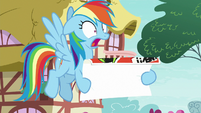 "Rainbow ""in Ponyville this weekend?!"" S8E20"