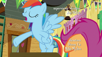 Rainbow -when I was outside eavesdropping- S8E20