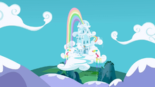 Rainbow Dash's house S3E7