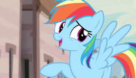 Rainbow Dash -is she for real-- S5E01