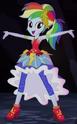 Rainbow Dash Crystal Gala outfit ID EG4