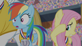 Rainbow Dash shocked and Fluttershy cringing S4E24.png