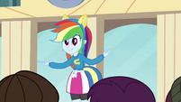 Rainbow Dash singing 2 EG