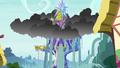 Rainwater floods the Castle of Friendship S6E21.png