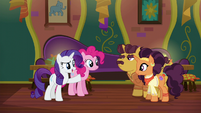 """Rarity """"ready for the grand re-re-opening"""" S6E12"""