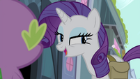 Rarity -We shouldn't even tell anypony- S4E23