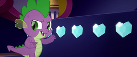"Spike ""taking one or two to taste"" MLPTM"
