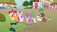 """Spike """"thought we'd meet you at the station"""" S03E11"""