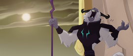 The Storm King cackling with joy MLPTM