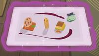Tray of The Tasty Treat's new food S6E12