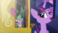 Twilight --so it's been a little while since we've seen the sun-- S5E22