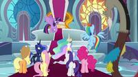 "Twilight Sparkle ""the ultimate battle"" S9E24"