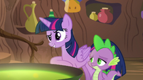Twilight Sparkle --I know funny-- S5E22