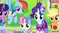 Twilight and friends impressed by Tree Hugger S5E7