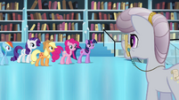 Twilight and friends meet the librarian S3E01