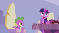 "Twilight wailing ""I don't know!"" S5E25"