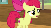 "Apple Bloom ""that's not how cutie marks work"" S7E21"