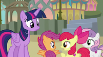 Apple Bloom -well, he did- S8E6