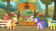 Apple family cider stand S2E15