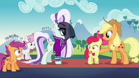 Cutie Mark Crusaders in shock S5E24