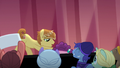 Feather Bangs picks Sugar Belle up off the floor S7E8.png