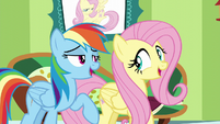 "Fluttershy and Rainbow ""everything that you've got"" S6E11"
