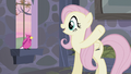 Fluttershy wants the bird to help them escape S5E02.png