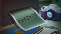 Forgotten Friendship Title Card - Dutch