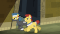 Henchponies running after Twilight S4E04.png