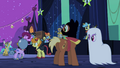 Partying ponies hear a scream S2E4.png