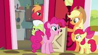 "Pinkie Pie ""already super-happy as a Pie"" S4E09"