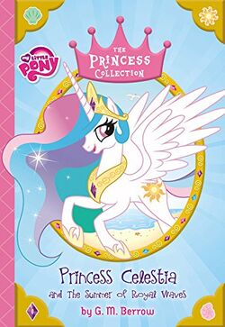 Princess Celestia and the Summer of Royal Waves cover