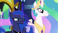 "Princess Luna ""real life is happening out here"" S9E13"