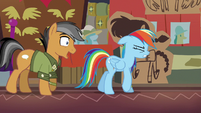 Quibble continues to annoy Rainbow S6E13