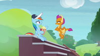 "Rainbow ""Snips was practicing with you"" S9E15"