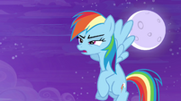 Rainbow Dash -this is Ponyville territory- S4E01
