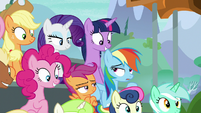 Rainbow Dash nonchalantly impressed S8E20