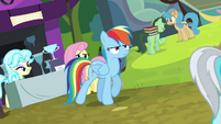 Rainbow Dash walking away S4E22