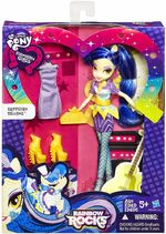 Rainbow Rocks Fashion Doll Sapphire Shores toy packaging